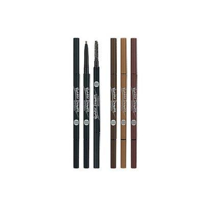 Holika Holika Wonder Drawing Skinny Eyebrow - 04 Red Brown
