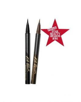 Clio Waterproof Brush Liner Kill Black XP