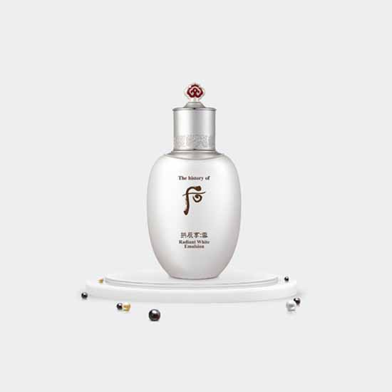The Whoo Gongjinhyang Seol Radiant White Emulsion