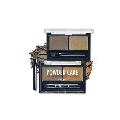 Aritaum IDOL Brow Powder Cake - 02 Ash Brown Duo