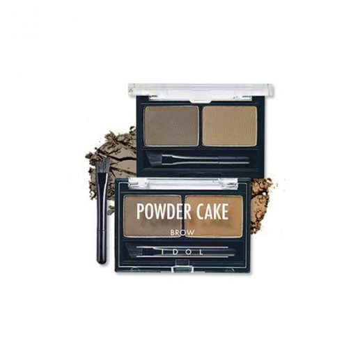 Aritaum IDOL Brow Powder Cake - 02 Ash Brown Duo