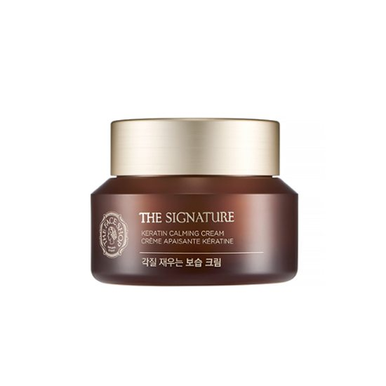 TheFaceShop The Signature Keratin Calming Cream