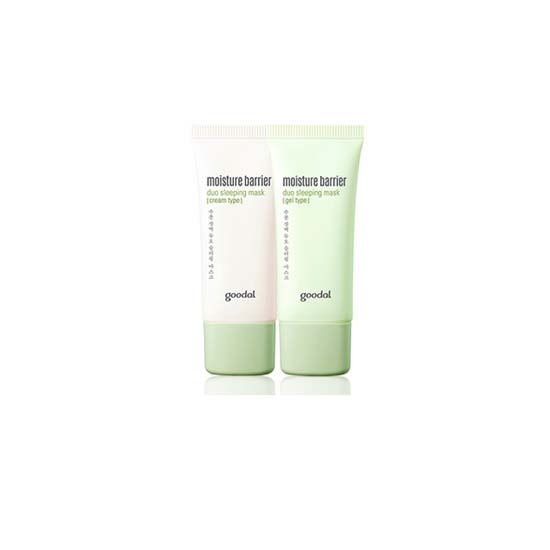 Goodal Moisture Barrier Duo Sleeping Mask(Cream Type/Gel Type)
