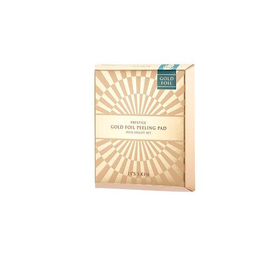It Skin Prestige Gold Foil Peeling Pad D'escargot Set