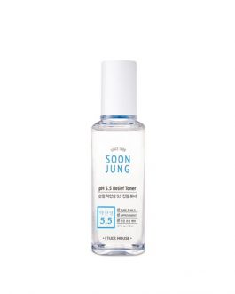 EtudeHouse SOONJUNG pH 5.5 Relief Toner (80ml)