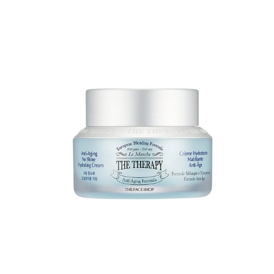 TheFaceShop The Therapy Anti-Aging No Shine Hydrating Cream