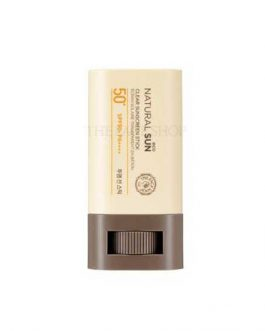 TheFaceShop Natural Sun Eco Clear Sunscreen Stick SPF50+ PA+++