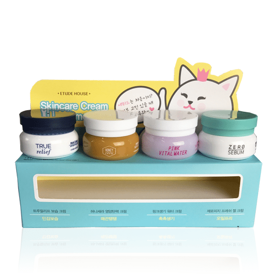 Etude House Skin Care Cream Welcome 4 Kit