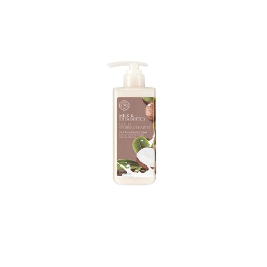 TheFaceShop Milk&Shea Butter Body Oil Lotion