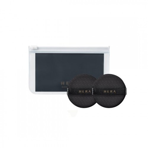 HERA Black Cushion Puff Duo