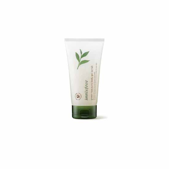 Innisfree Green Tea Pure Body Gel Scrub