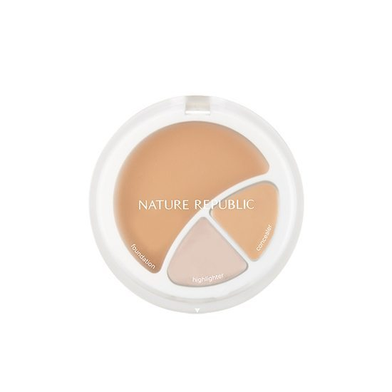 Nature Republic Provence Intense cover 3 In 1 Strobeing Foundation