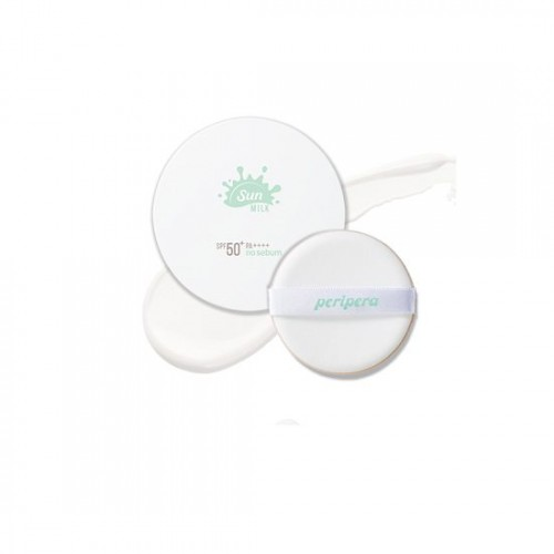 Peripera No Sebum Milk Sun Cushion SPF50+/PA++++