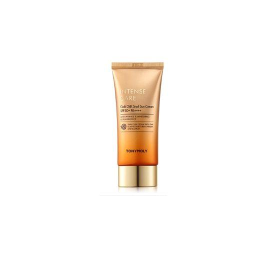 TONYMOLY Intense Care Gold 24K Snail Sun Cream SPF50+/PA++++