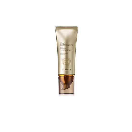 The SAEM Snail Essential EX Wrinkle Solution Sun Cream (SPF50+ PA+++)