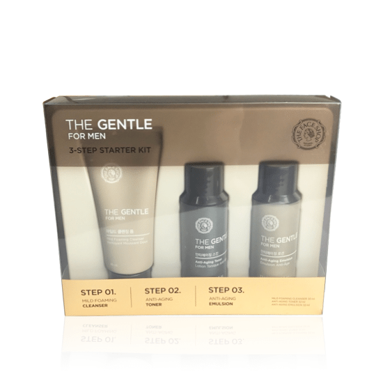 The Face Shop The Gentle For Men 3 Step Starter Kit