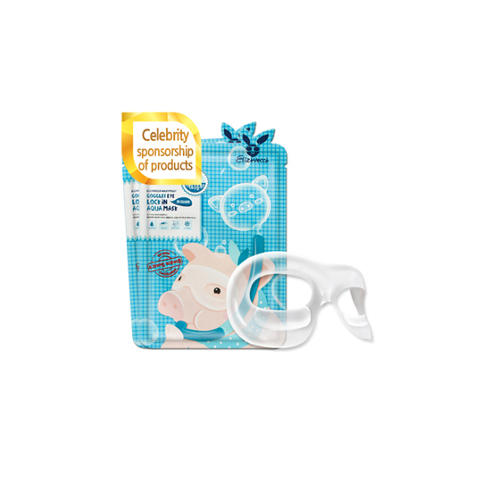 ELIZAVECCA Goggles Eye Lock in Aqua Mask