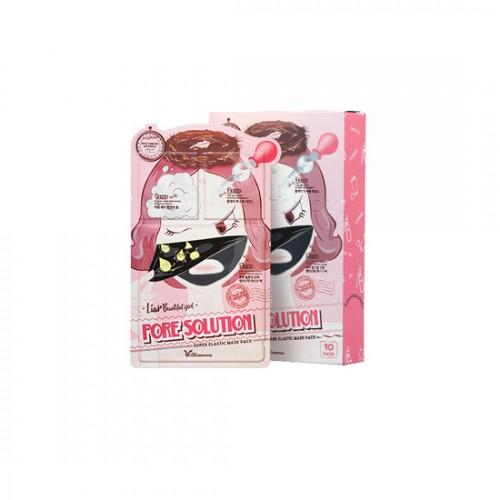 ELIZAVECCA 3step Liar Beautiful Girl Pack-Pore Solution Super Elastic
