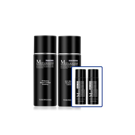 TOSOWOONG Men's Booster Repair Skin Toner Lotion Set