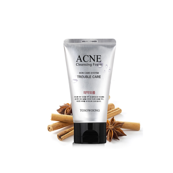 TOSOWOONG Acne Cleansing Foam (For acne treatment / Sanitary-Aid)