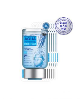 TOSOWOONG Aqua Tok Tok CO2 Mask (5sheets)