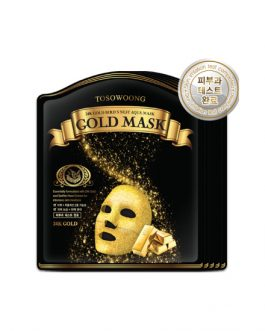 TOSOWOONG 24K Gold Bird's Nest Aqua Mask (5sheets)