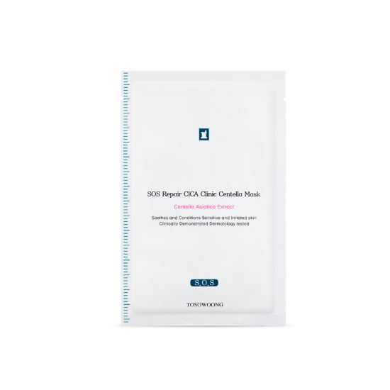 TOSOWOONG Cica Clinic SOS Repair Mask (10sheets)