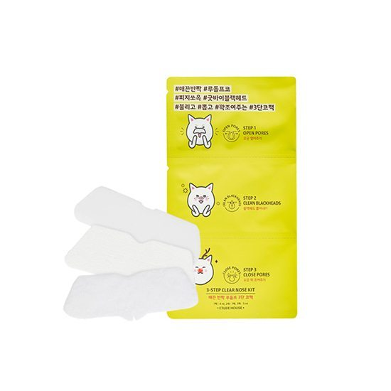 EtudeHouse 3 Step Clear Nose Kit