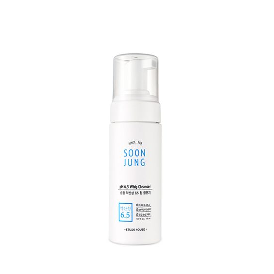 EtudeHouse SOONJUNG pH 6.5 Whip Cleanser (70ml)