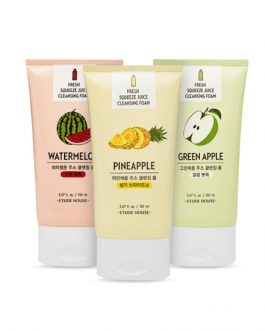 Etude House Fresh Squeeze Juice Cleansing Foam