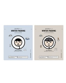 TheFaceShop Winter Padding Moisturizing & Deep Moisturizing Cream Mask
