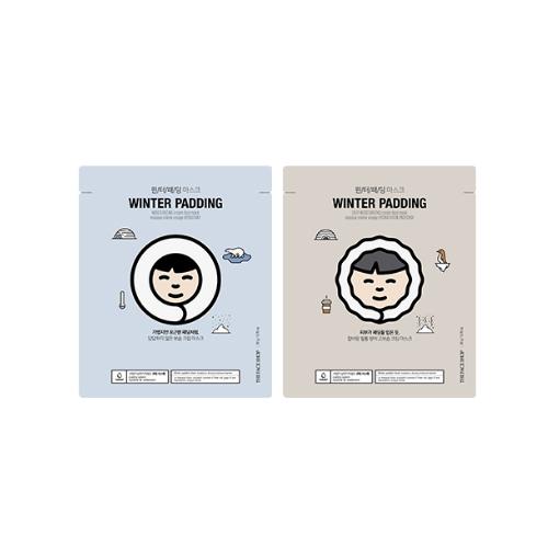 TheFaceShop Winter Padding Moisturizing & Deep Moisturizing Cream Mask