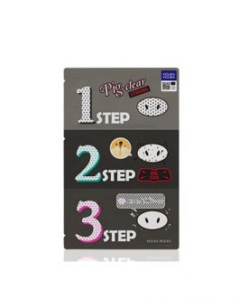 HolikaHolika Pig Clear Balckhead 3-STEP Kit Strong