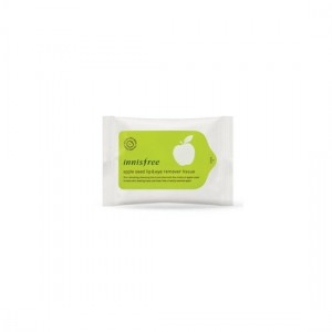 INNISFREE Apple Seed Lip & Eye Makeup Remover Tissue