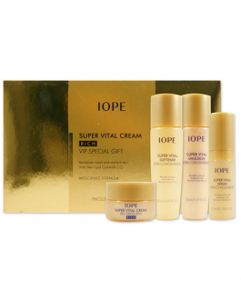 IOPE Super Vital Cream Rich VIP Special Gift (5 Items)