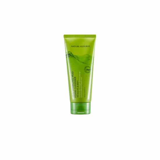Nature Republic Sparkling Mud Foam Cleanser
