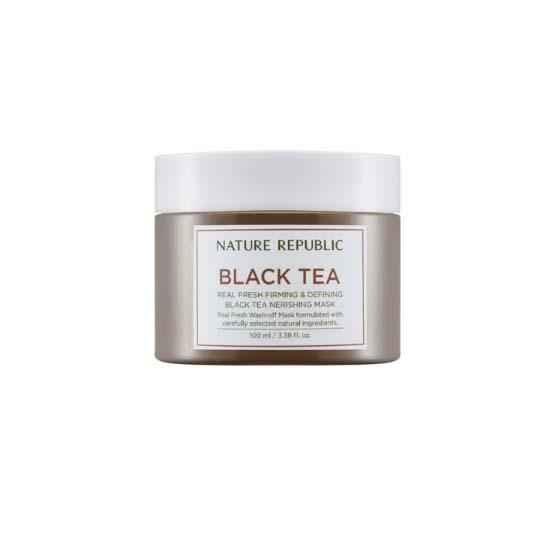 NatureRepublic Real Fresh Black Tea Nourishing Mask