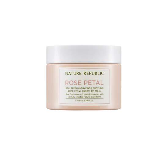NatureRepublic Real Fresh Rose Petal Moisture Mask