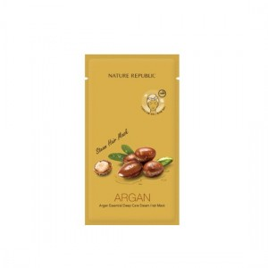 NATURE REPUBLIC Argan Essential Deep Care Steam Hair Mask