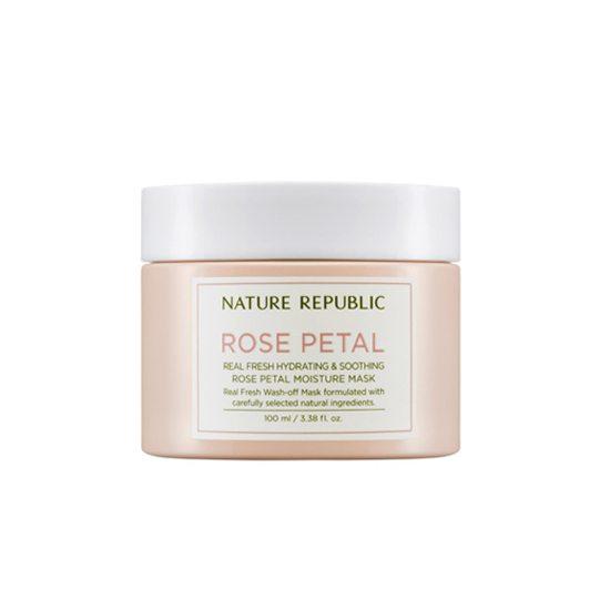NATURE REPUBLIC Real Fresh Rose Petal Moisture Mask