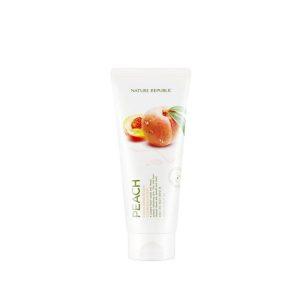 Nature Republic Fresh Herb Peach Cleansing Foam
