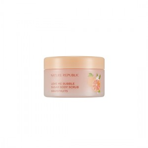 NATURE REPUBLIC Love Me Bubble Sugar Body Scrub(Grapefruit)