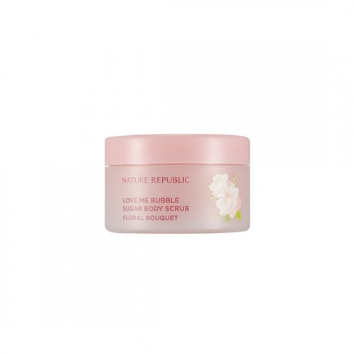 NATURE REPUBLIC Love Me Bubble Sugar Body Scrub(Floral Bouquet)