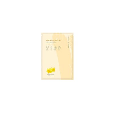 NATURE REPUBLIC Premium Gold Foil Foot Mask
