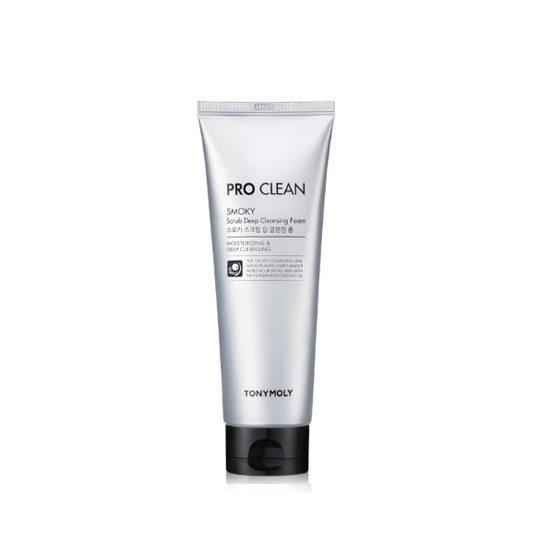 TonyMoly Pro Clean Smoky Scrub Deep Cleansing Foam