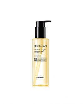 TonyMoly Pro Clean Smoky Cleansing Oil