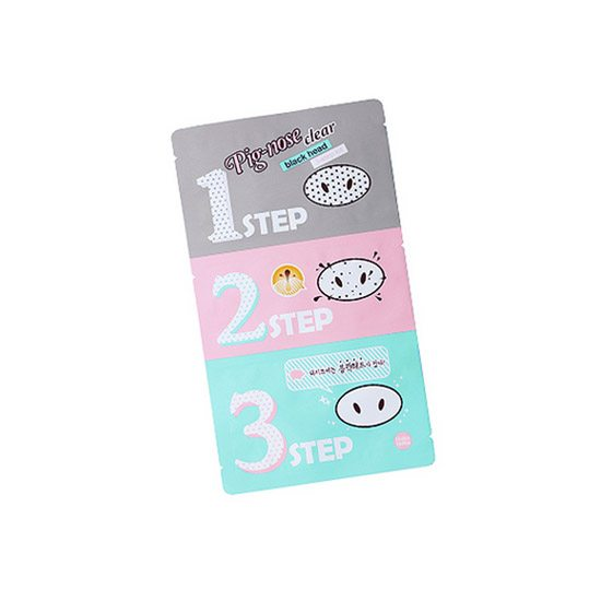 Holika Holika Pig-Nose Clear Black Head 3-Step Kit