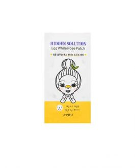 PIEU Hidden Soultion Egg White Nose Patch