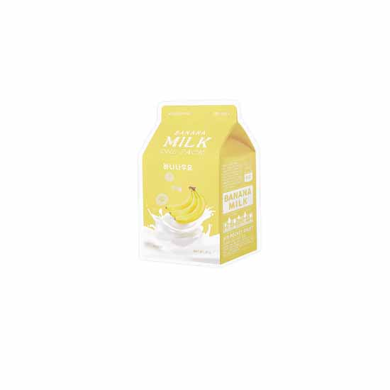 A'pieu Banana Milk One-pack(Sheet Mask)