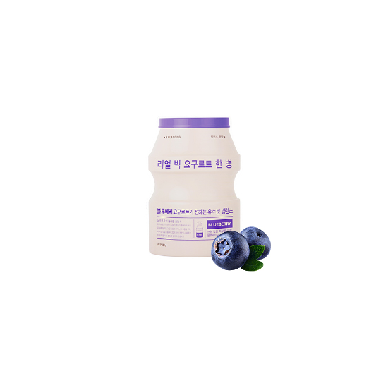 A'PIEU Real Big Yogurt One-bottle(Blueberry)